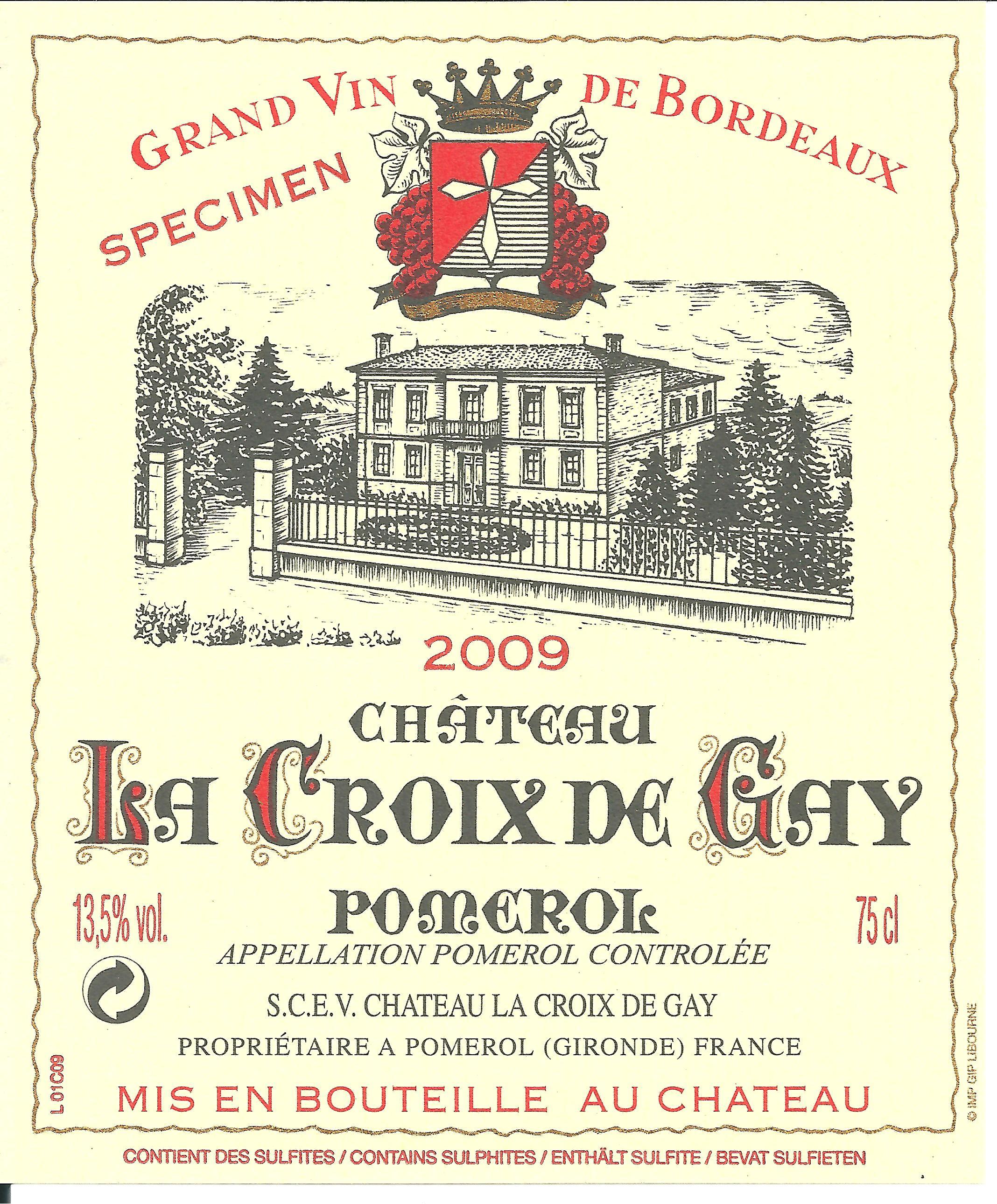 Château la Croix de Gay